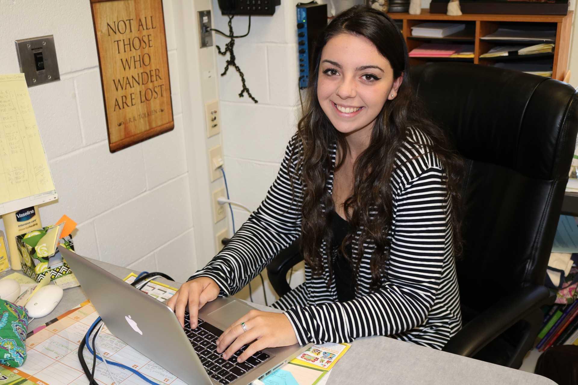 Editor in Chief, Hailey Julian.