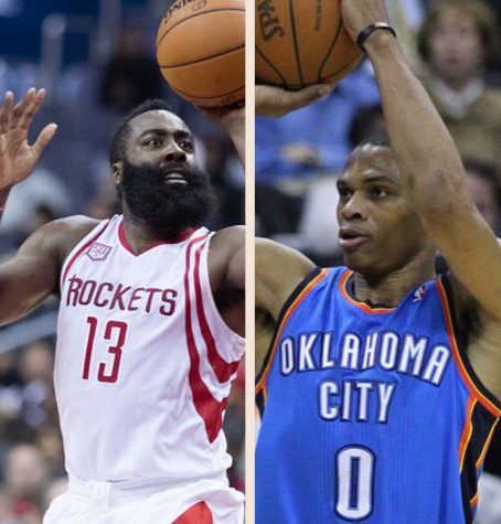 Your 2017 MVPs are…. James Harden and Russell Westbrook?
