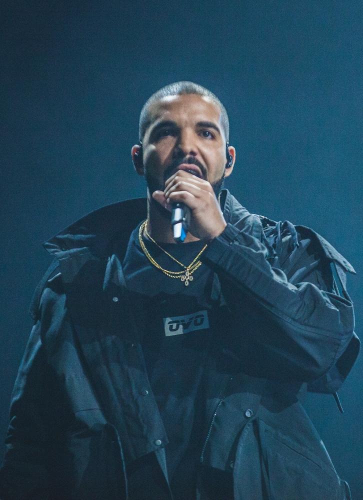 Drake live in concert