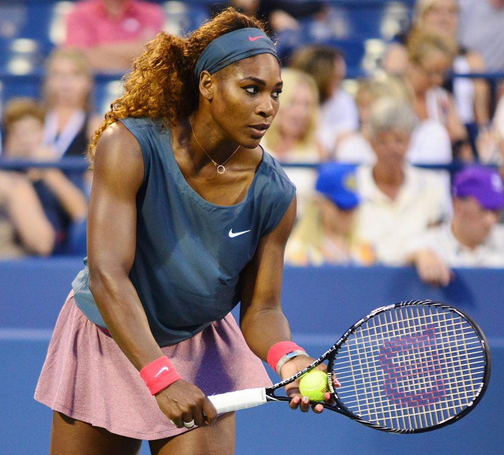Serena+Williams+was+the+center+of+some+controversy+this+week+when+she+revealed+her+pregnancy.