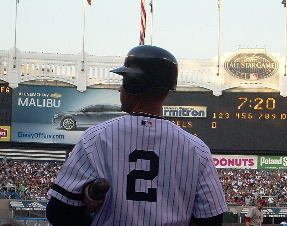 Derek+Jeter%2C+former+Captain+of+the+NY+Yankees+had+his+number%2C+2%2C+retired+this+past+Sunday.