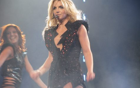Britney Spears performing live, 2017.