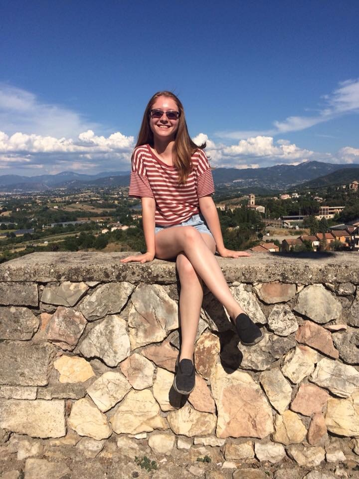 PMHS+Senior%2C+Amanda+Coccia+in+Narni%2C+Italy+this+summer.