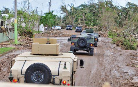 Devastation in Puerto Rico