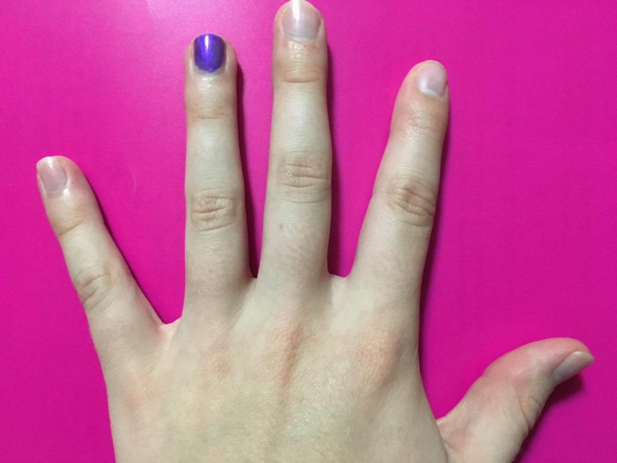 Paint+your+ring+finger+purple+this+month+to+show+support+for+Domestic+Violence+Awareness.