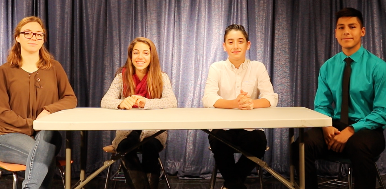 Maddy and Giovanni were recently interviewed by Raider TV.