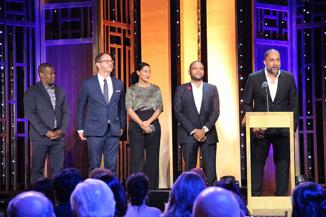 The+cast+and+crew+of+%22Blackish%22+at+the+Peabody+Awards.