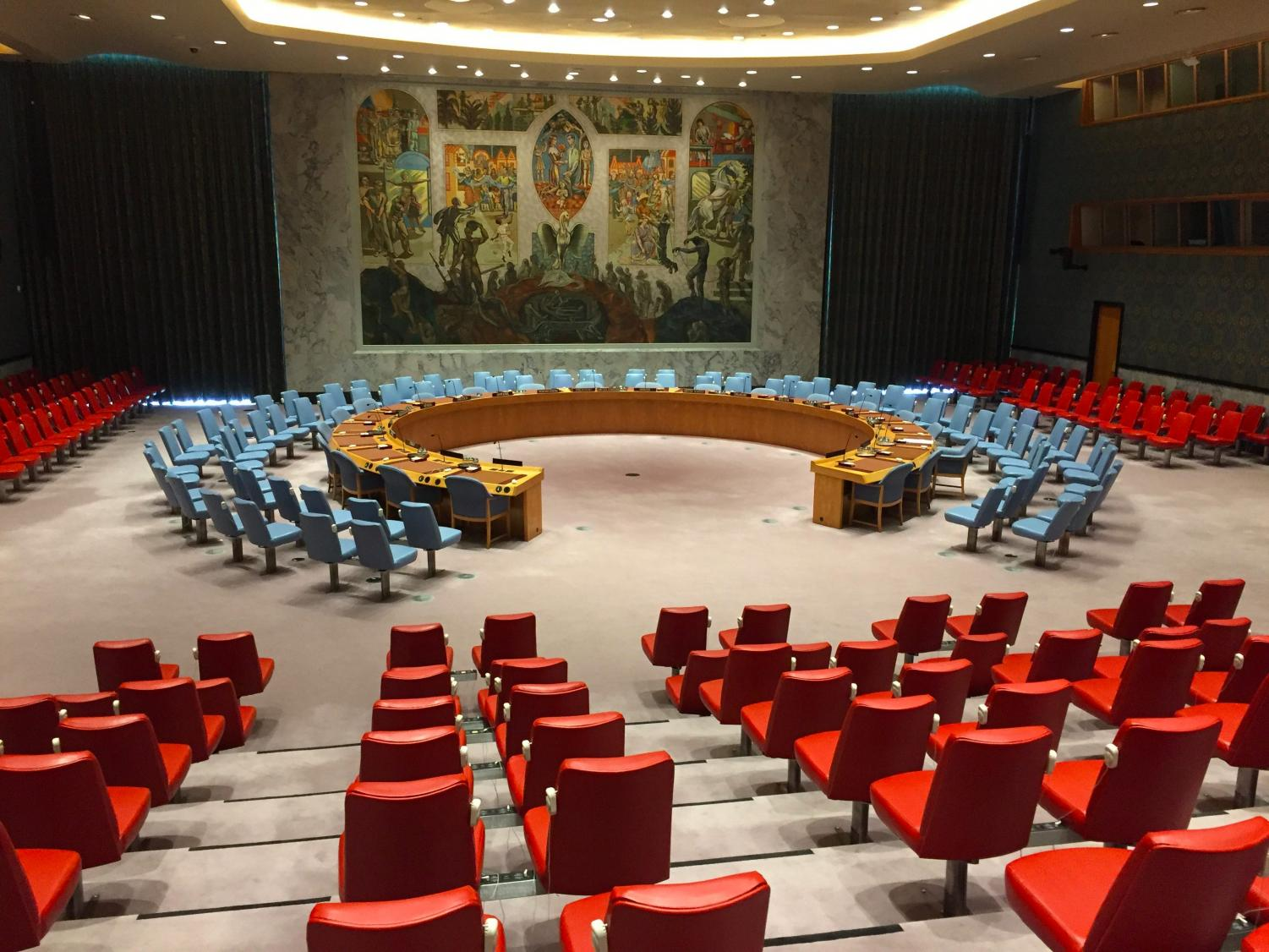 The United Nations Security Council Room