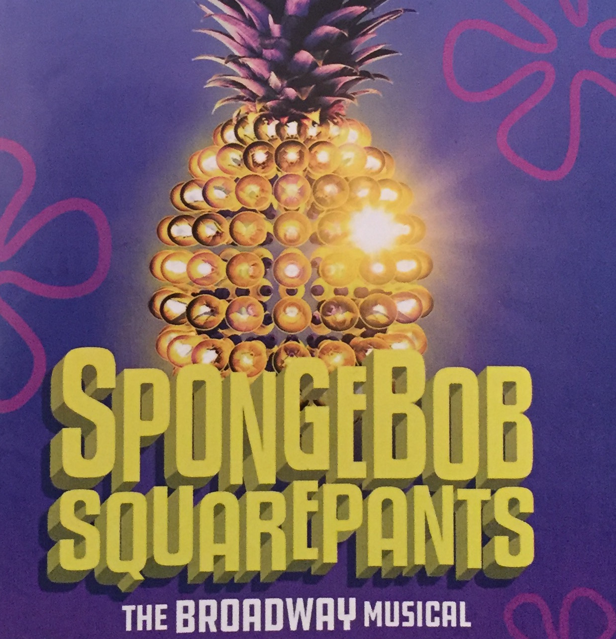 Spongebob Squarepants has taken a new form as Broadway's newest hit musical.