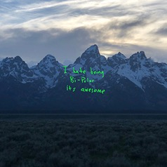 ye album cover art (2018).