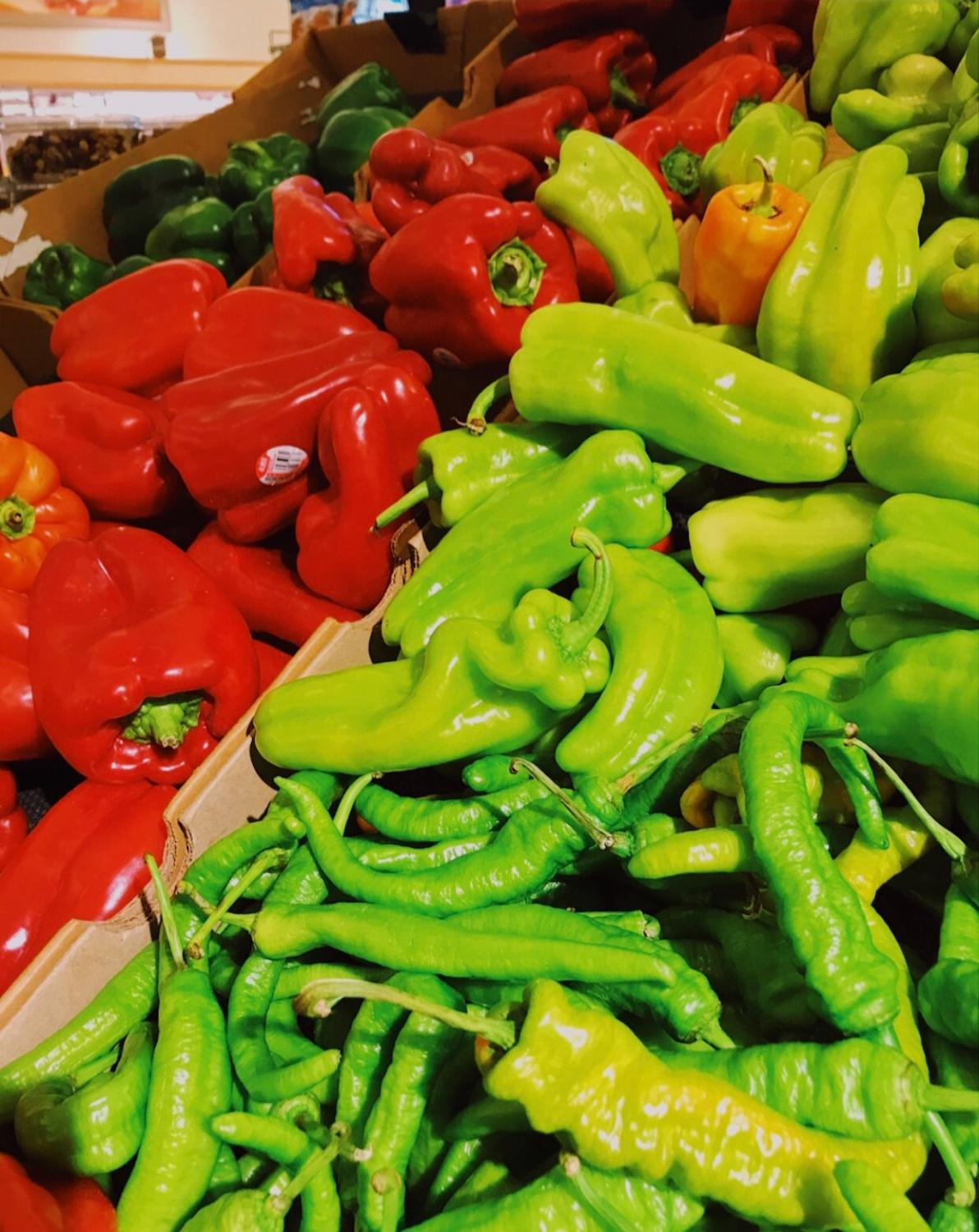 The more color in your diet, the better.  A colorful diet is essential to vegan eating.