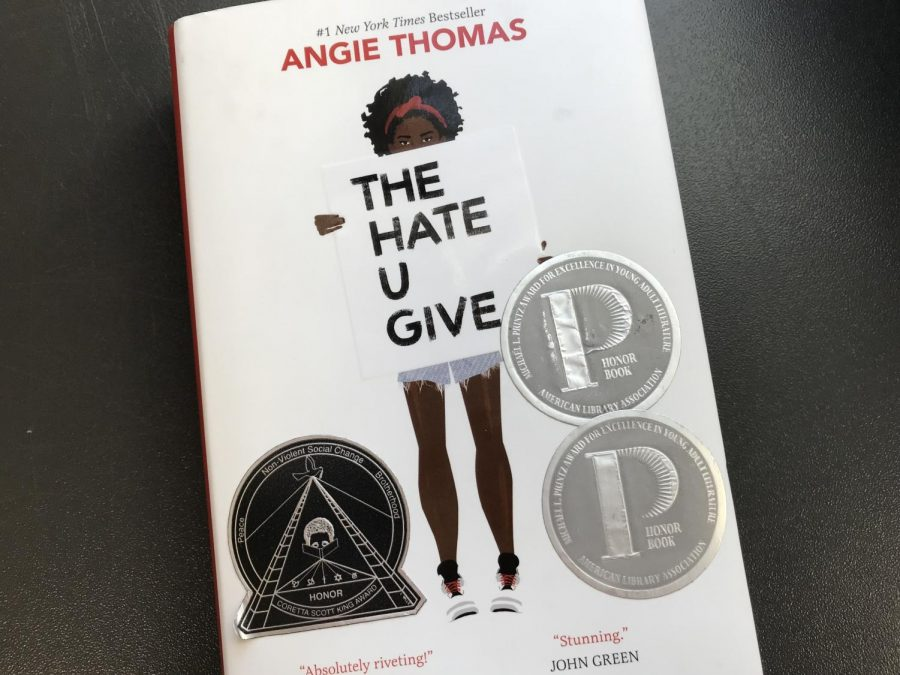 The+Hate+You+Give%2C+based+on+the+YA+novel+by+Angie+Thomas+was+released+this+past+weekend+in+theaters.