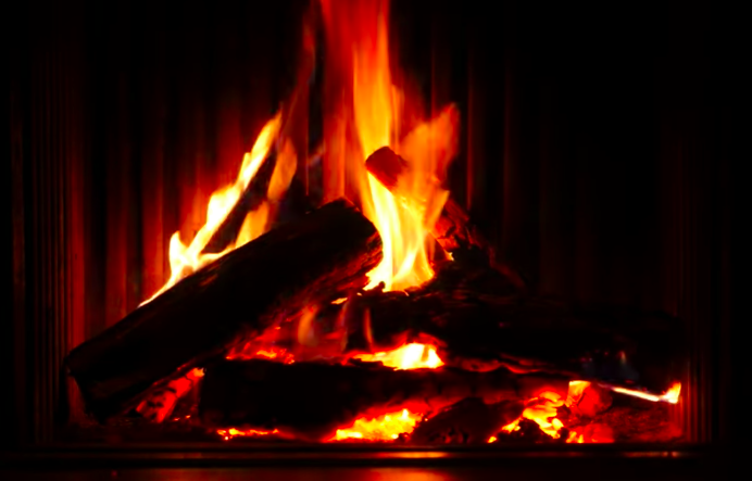 Cozy+up+to+a+real+fireplace+or+use+ours%21+Enjoy+the+sounds+of+the+season.