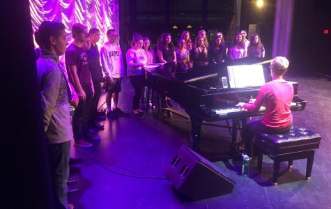 "PMHS Singers Perform ""Broadway Memories"" at Patchogue-Theater"