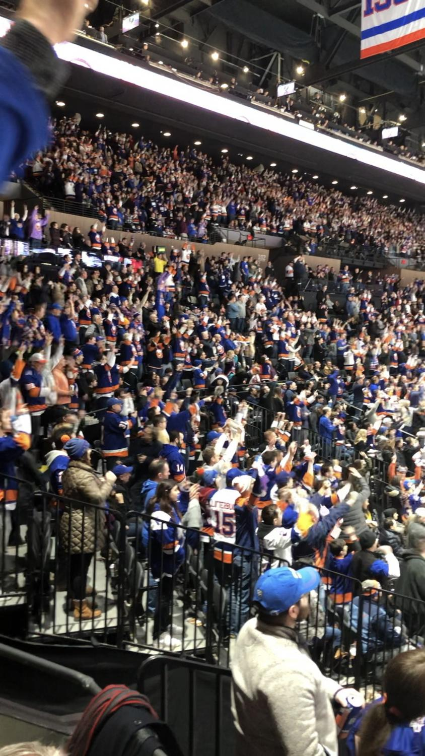 There is NO noise like that of the Islander fans rocking the Barn.