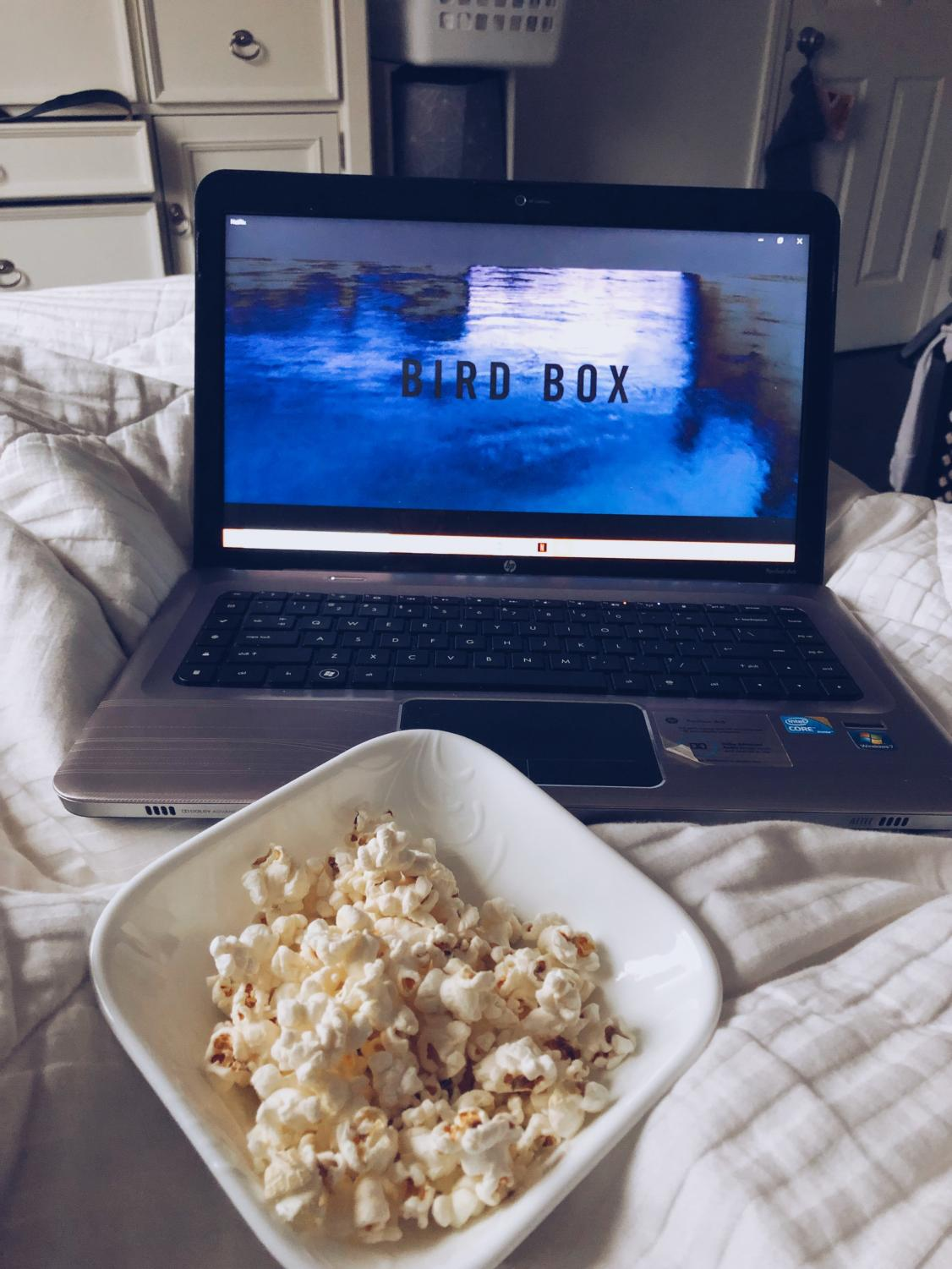 Popcorn and movies are the best way to spend a lazy weekend!