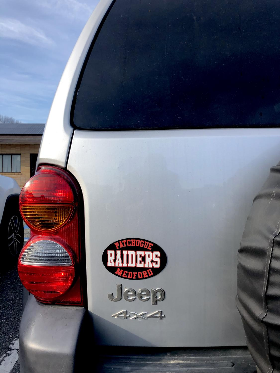 Whatever your first car is, be sure to accessorize it with Raider pride.