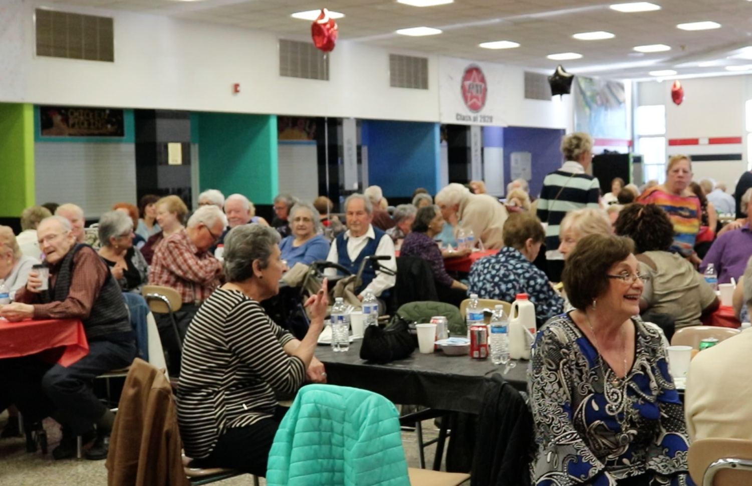 PTSA hosts the Senior Citizen Dance 2019