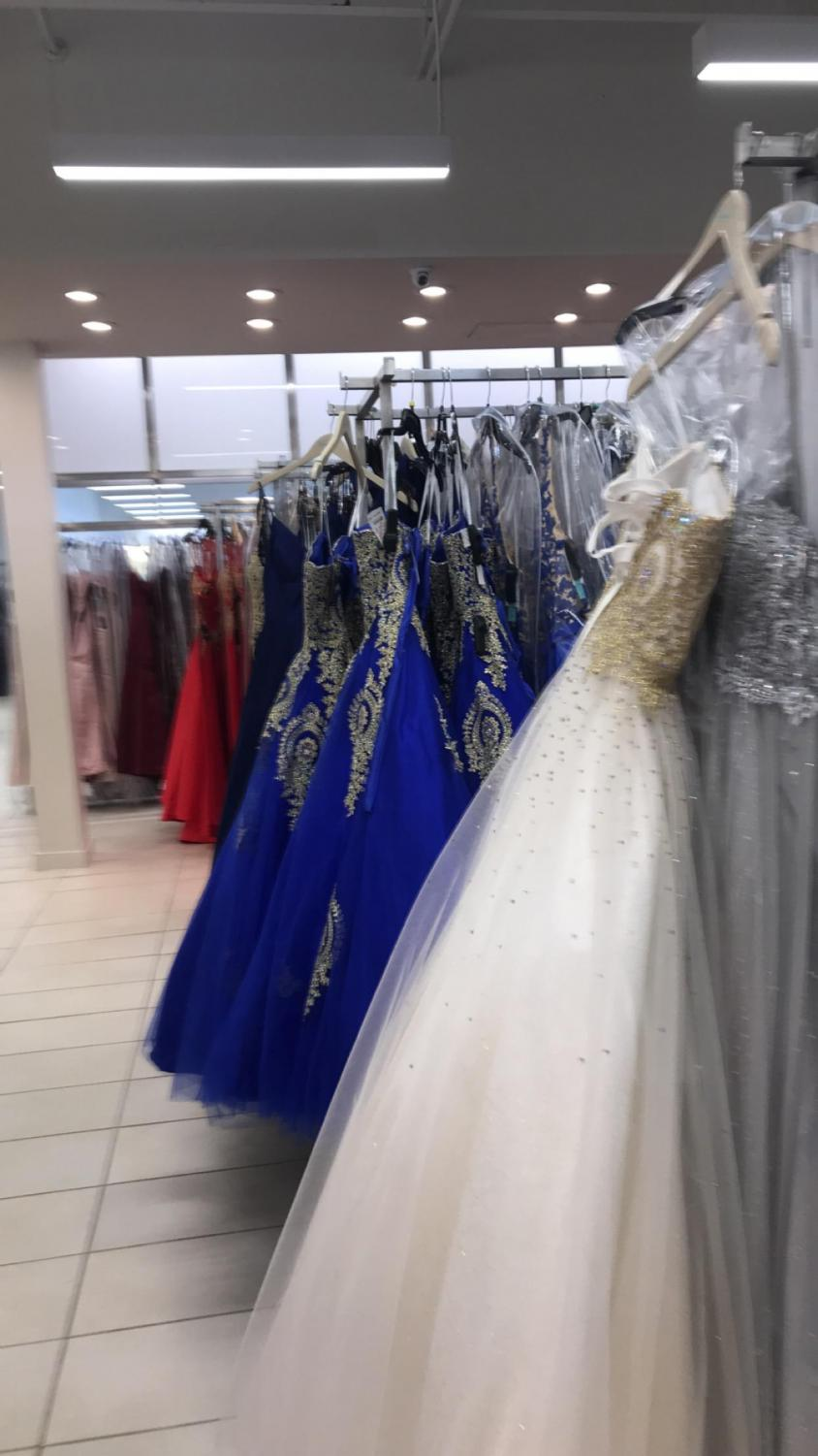 Camille La Vie in Carle Place has a wide selection of dresses to choose from at great prices. Whatever fit or color you're looking for, they have it. They are one of a few dress stores on the island that provide great customer service along with great prom dresses.