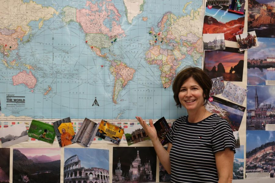 Ms. Barresi turns her traveling experience into engaging lessons for World History.