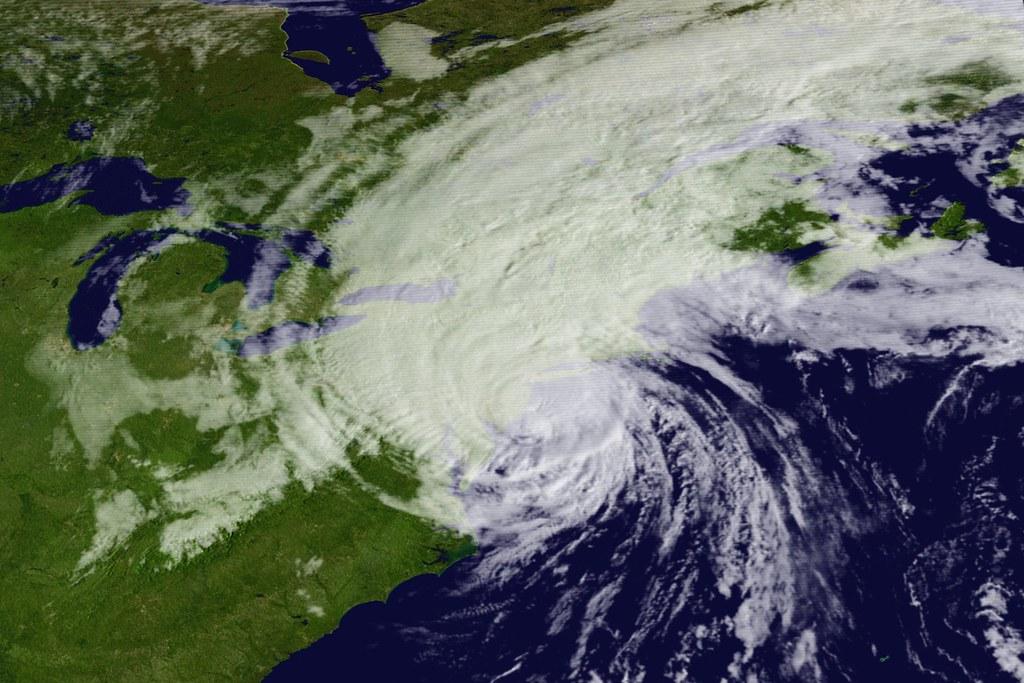 After decimating The Bahamas, Hurricane Dorian dramatically increased speed to make landfall in the Carolinas, and continued moving North toward Nova Scotia.