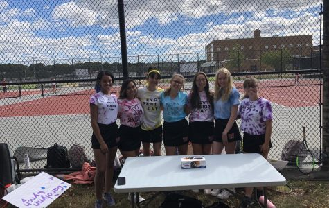 Senior Day for Girls Tennis