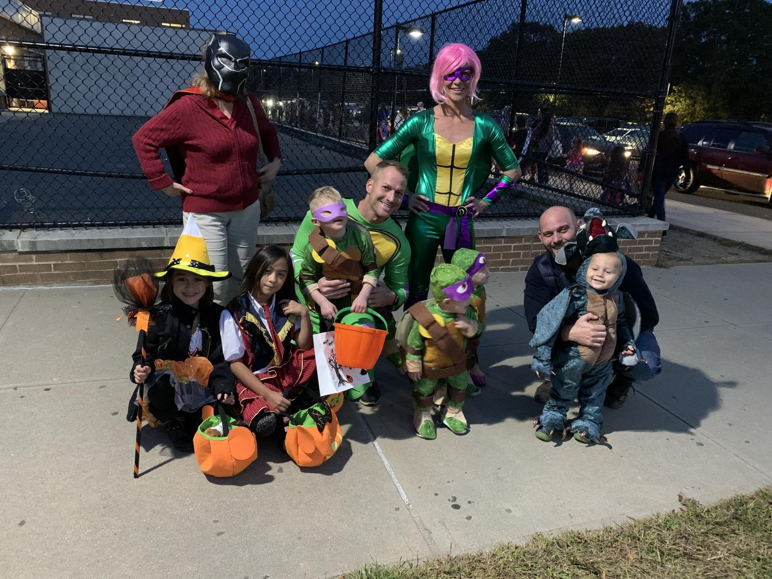 Kids were so excited to get some practice for trick or treating in preparation for the BIG day. PMHS clubs and students helped make the night extra special.