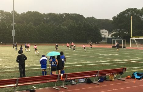 Field Hockey team raises money to support Breast Cancer Research