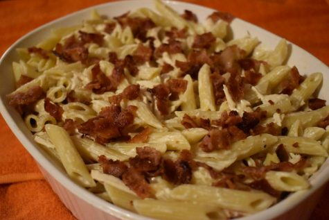 A quick and tasty pasta recipe for a weekday fall night.