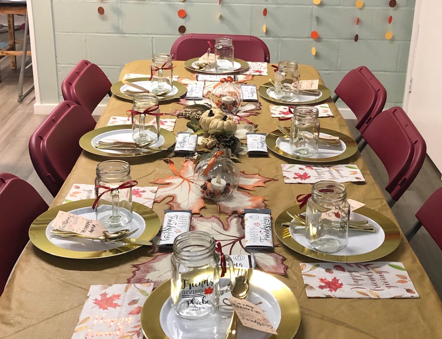Get your tables set to welcome friends and family this holiday season.