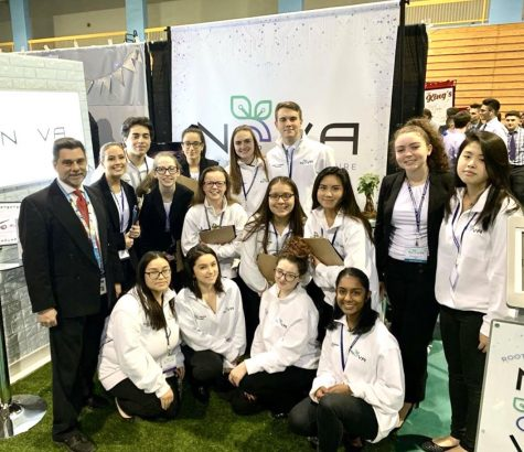The NOVA presentation team earned six awards, including four gold medals at the Long Island Regional Tradeshow.