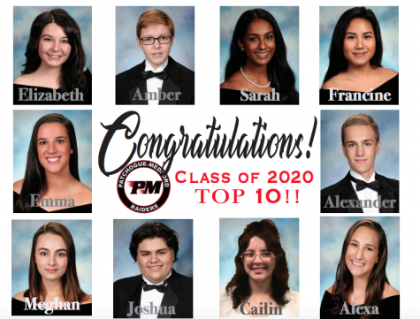"The Class of 2020 Top ""Quaran""-TEN"