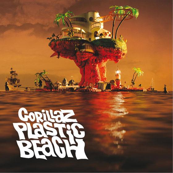 Album cover for Gorillaz