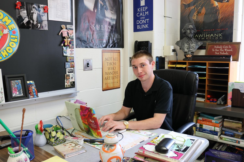 The Red & Black's Editor in Chief, Michael Alduino (Grade 12)
