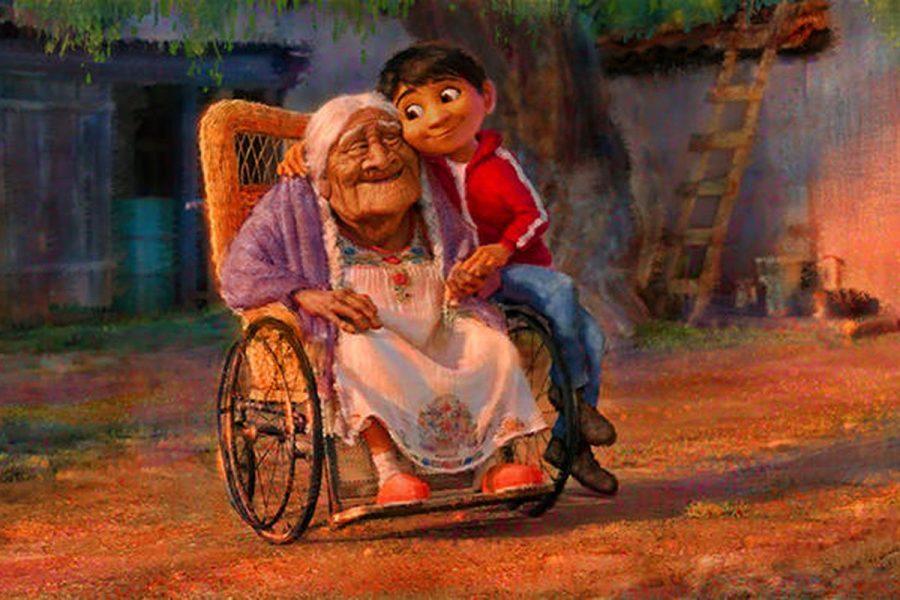 Miguel & Mama Coco from Disney Pixar's Coco (2017)