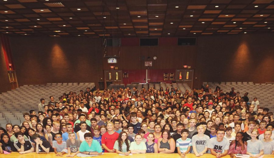 The Class of 2022 -- welcome to PMHS