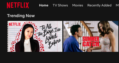 Netflix has been the hub of the newly revived rom-com genre with successes like