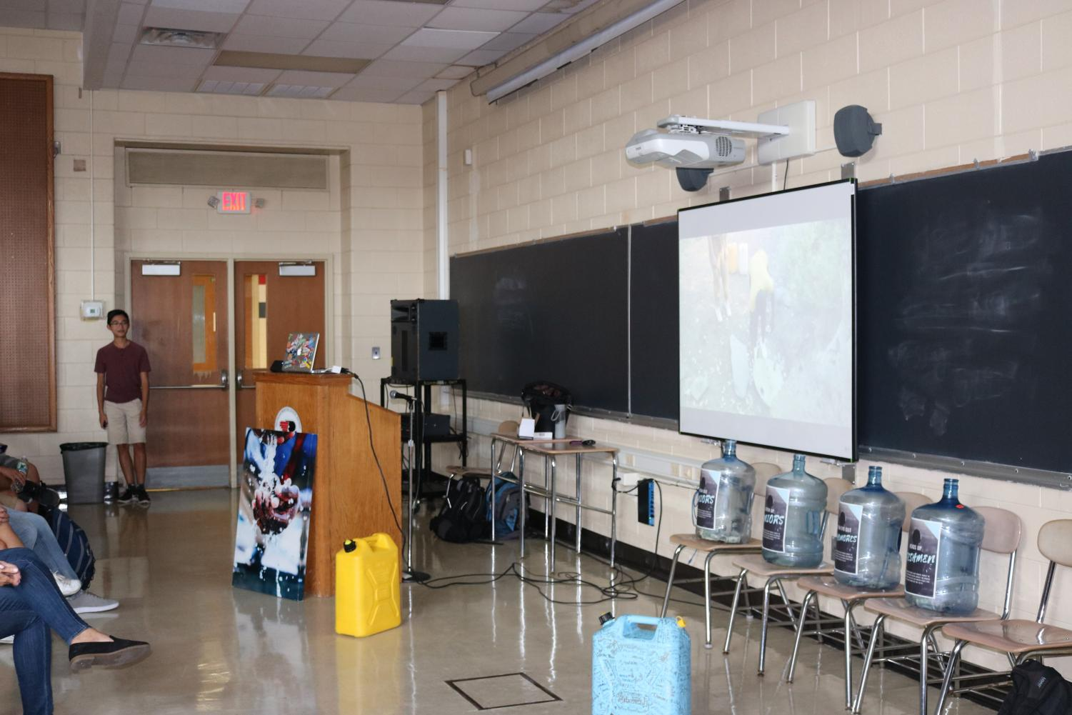 The Key Club hosted an event for