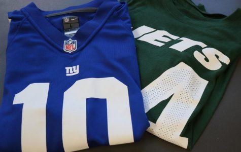 NFC & AFC New York teams the NY Giants and the NY Jets.