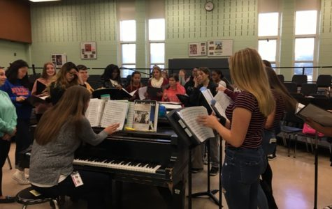 PMHS Girls Find Harmony in New Treble Choir