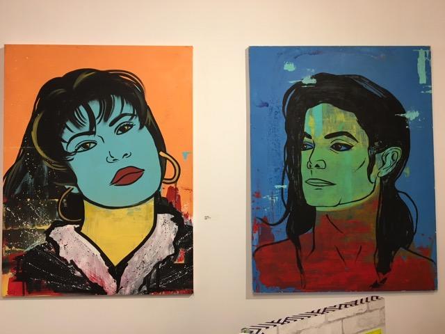 Left painting entitled