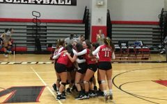 Girls' Volleyball Has More Than Just Luck