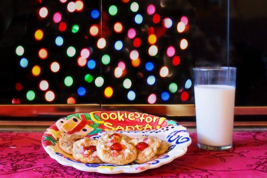 Most of us spent our childhood leaving cookies out for Santa as part of our christmas traditions. What do the students of Pat-Med do now to celebrate?