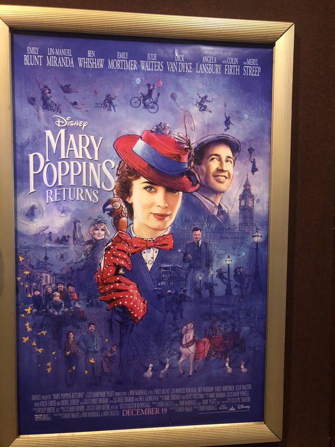 Mary Poppins Returns in now in theaters. If you're looking for maximum entertainment this holiday break, Mary Poppins is always there to help. She's
