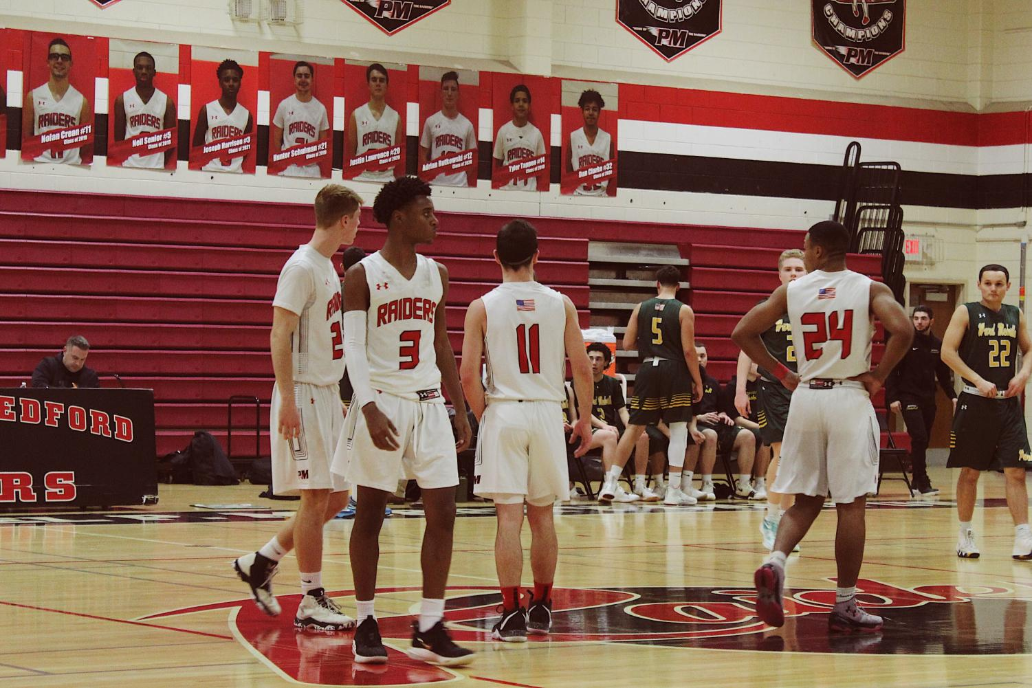 Patchogue+Medford+boys+basketball+team+played+Ward+Melville+on+January+17th.+The+score+ended+up+being+58-64%3B+great+efforts+but+a+loss+for+Pat+Med.+