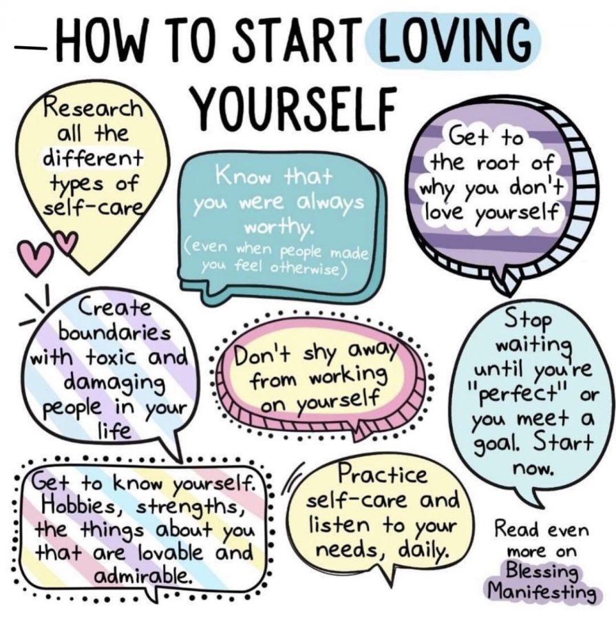 What can you do to make a better self? It's all about the care you take the time to spend on yourself.