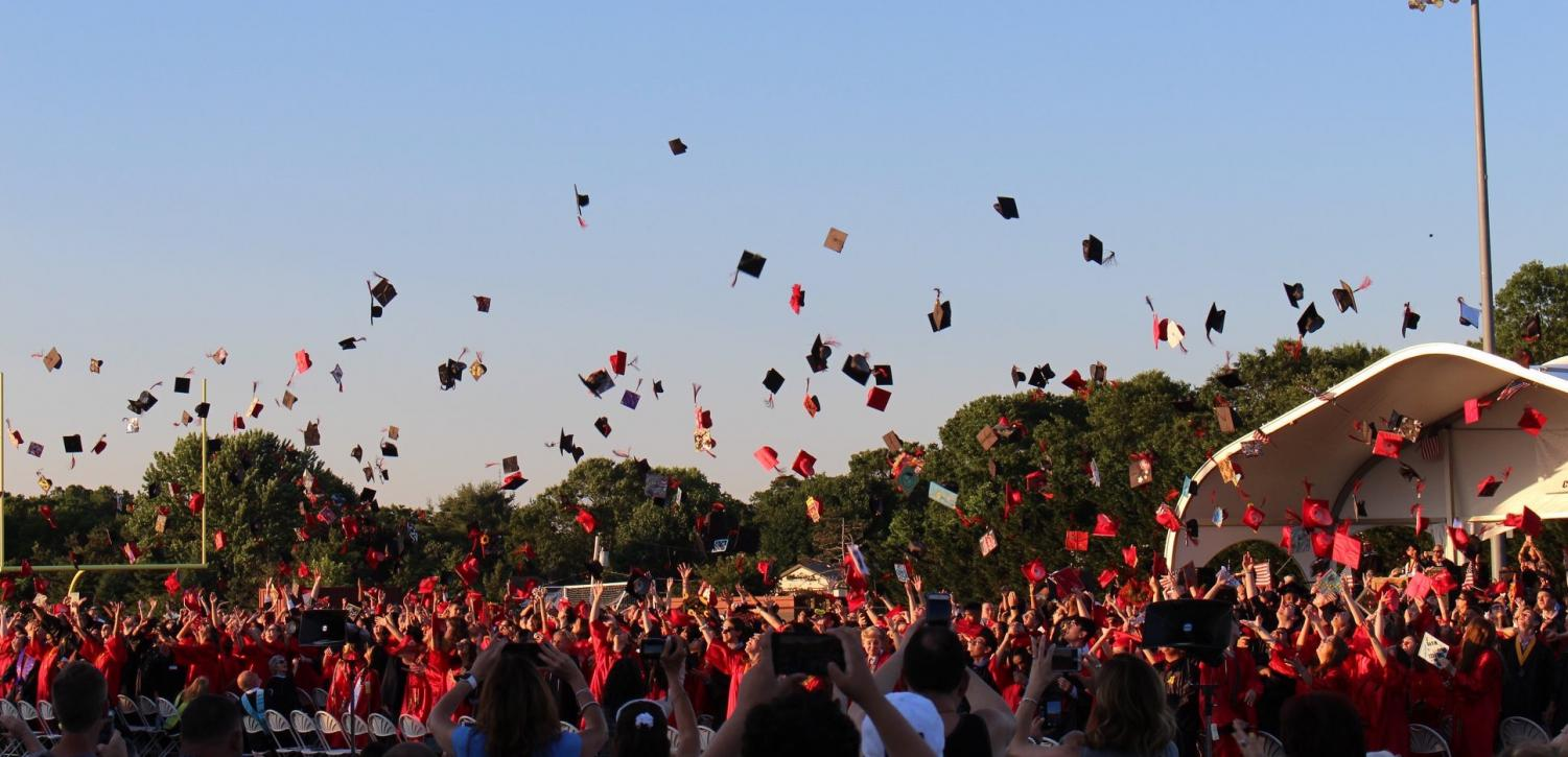 Another year, another promising future. The Class of 2019 gathered, along with their loved ones, to celebrate a milestone of achievement: High School Graduation. Some are moving on to college, some to the Armed Services, and others to the work force. Whatever their choices, they have reason to be proud just like PMHS.
