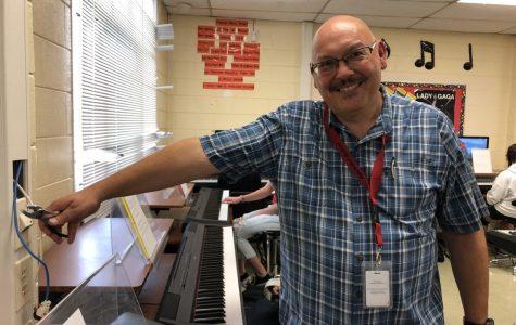 Mr. Mahr, music teacher
