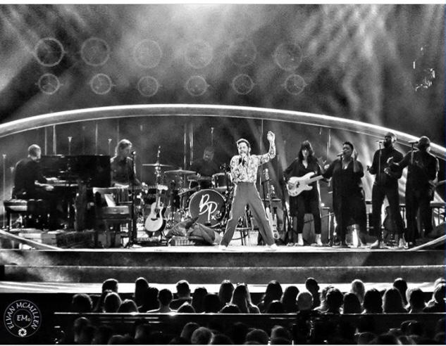 Ben Platt performing in his unique way at Radio City Music Hall in NYC.