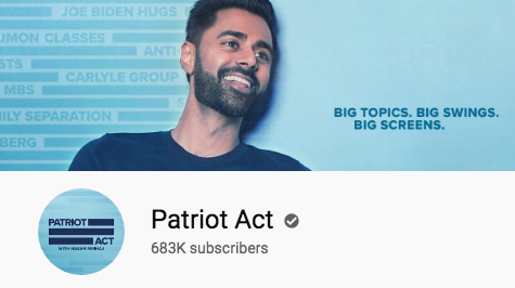 Patriot Act with Hasan Minhaj is a revolutionary comedic talk show
